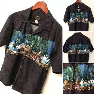 Hawaiian Reserve Collection Classic Car Surf Shirt